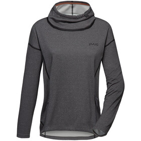 PYUA Tube S Sweat-shirt à capuche Femme, grey melange